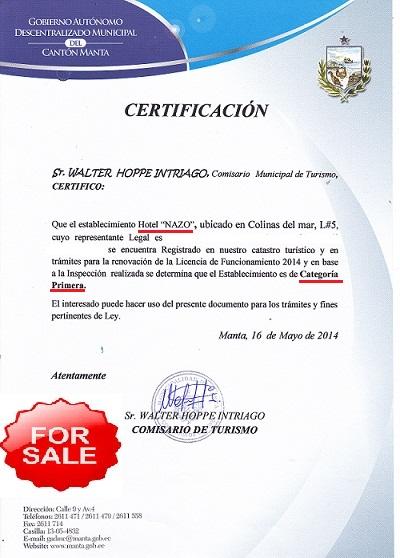 negocio de venta en Manta Ecuador