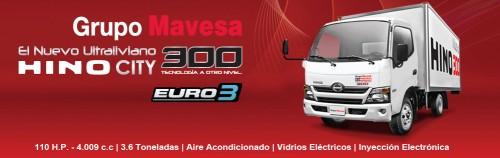 Camiones Hino en Ecuador