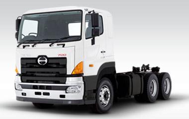 Camiones Hino usados en Ecuador