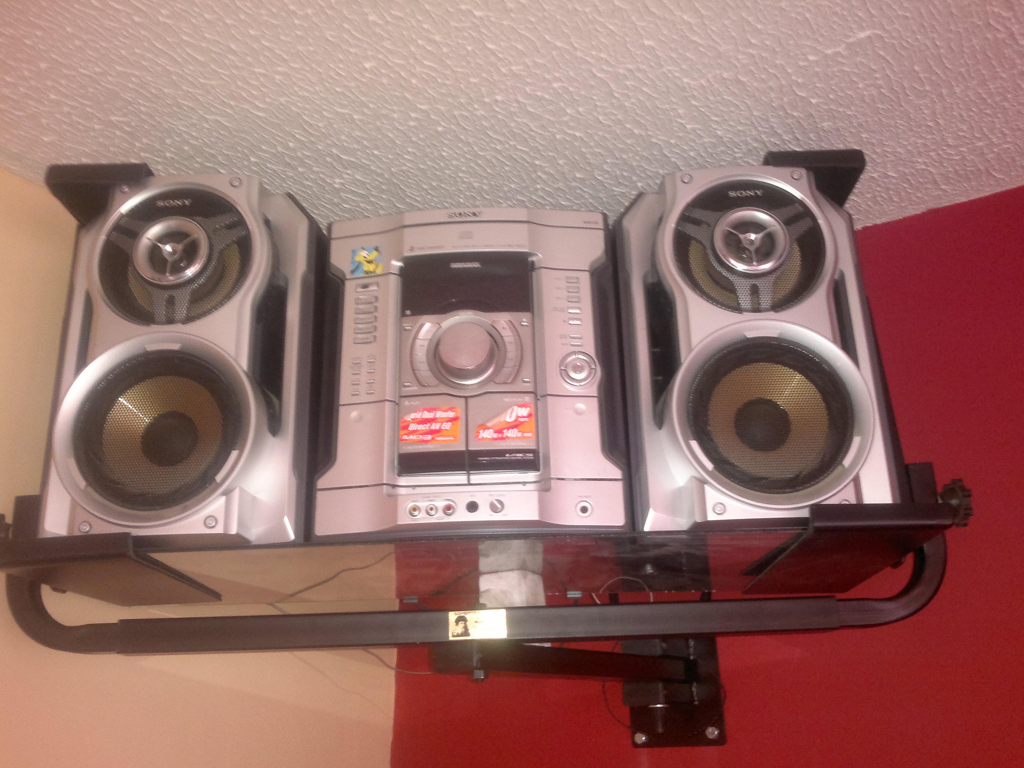 soporte para equipo de sonido