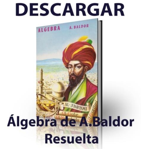 Solucionario del Algebra de Baldor
