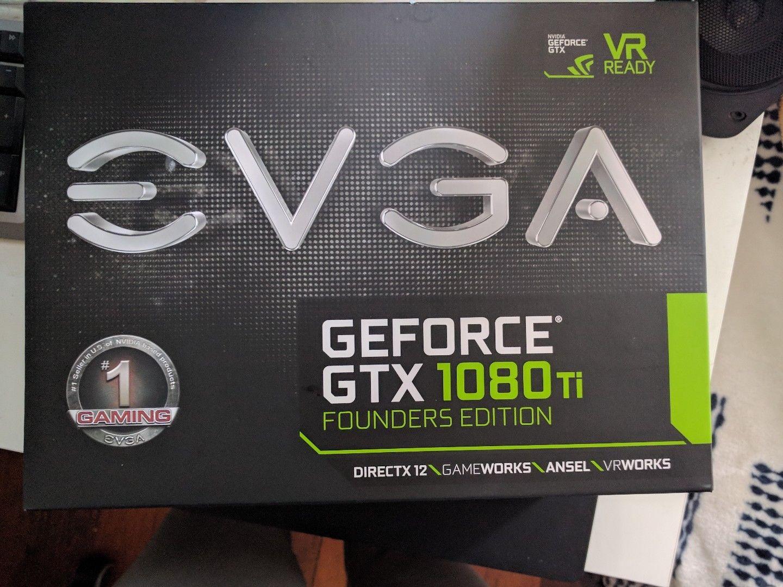 Tarjeta Gráfica Evga 1080 Ti GTX