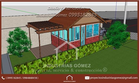 casa venta madera