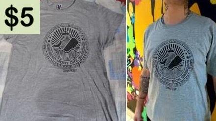 camiseta gris talla s