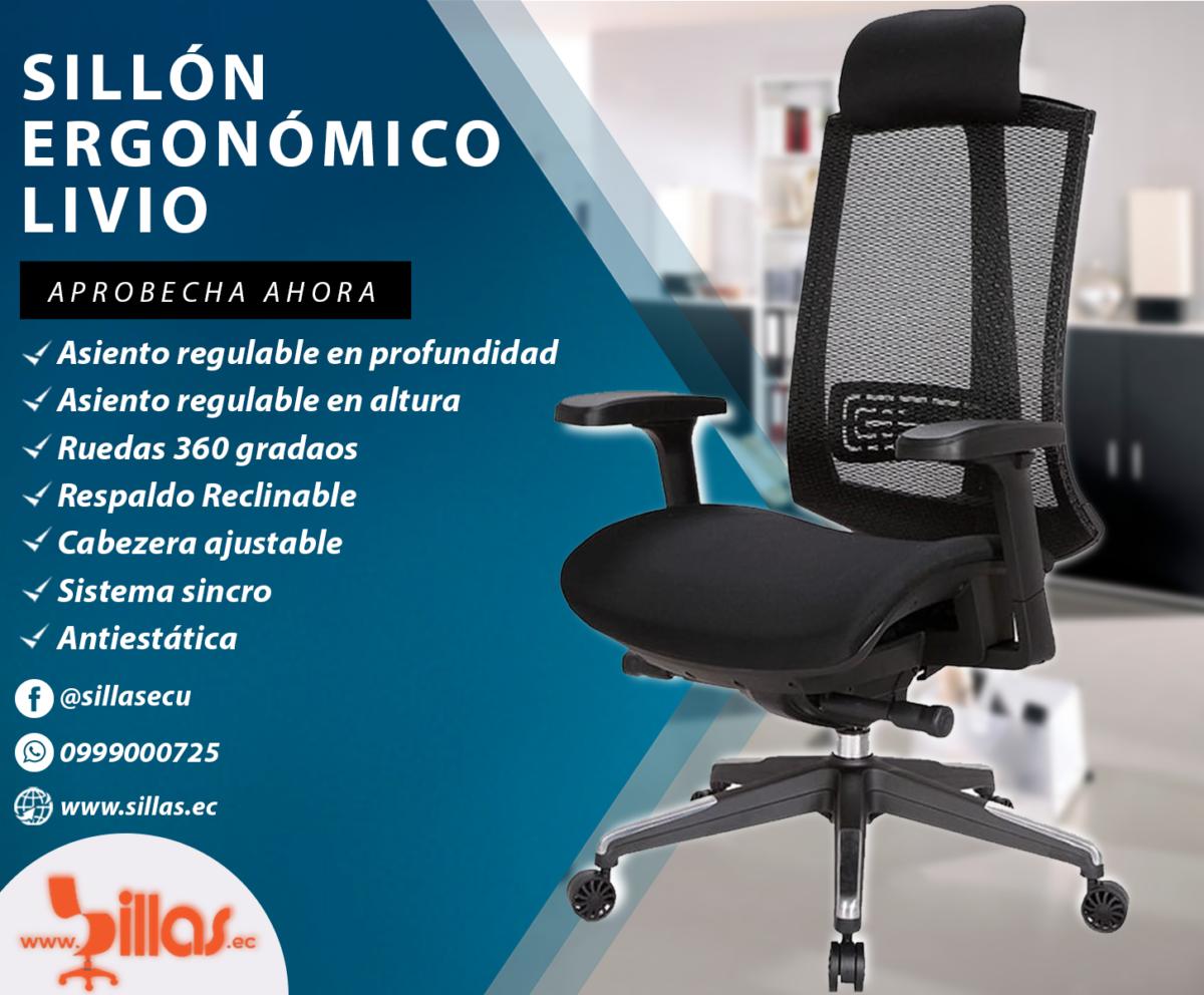Sillon Ergonómico Quito